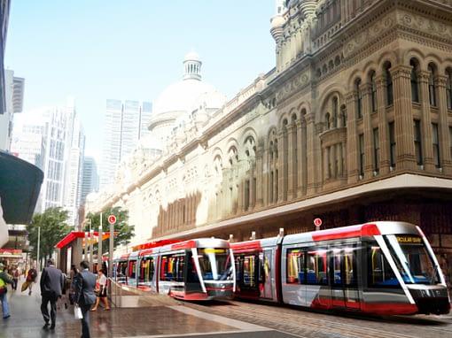 Sydney Light Rail CSELR Project